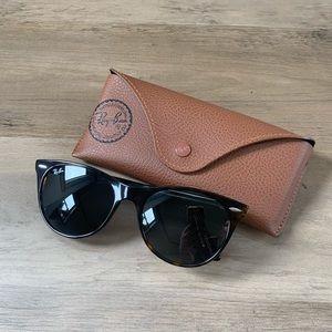 Ray-Ban 55mm Round Wayfarer Sunglasses